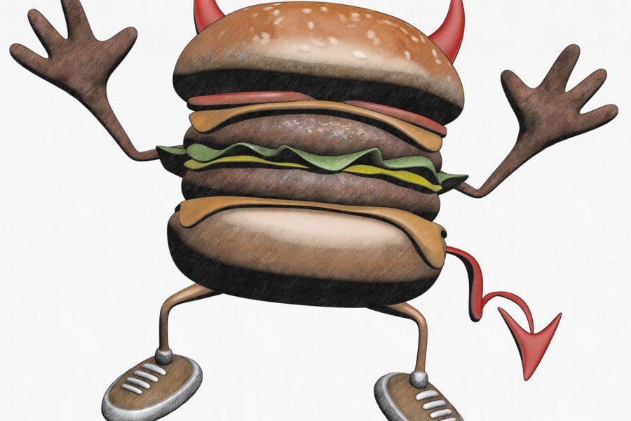 Co zawierają dania typu fast food?
